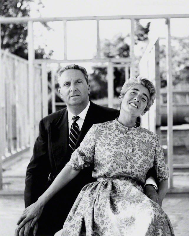 Elsbeth und Hans Juda in den 1950er Jahren -  © Elsbeth R. Juda / V&A Images