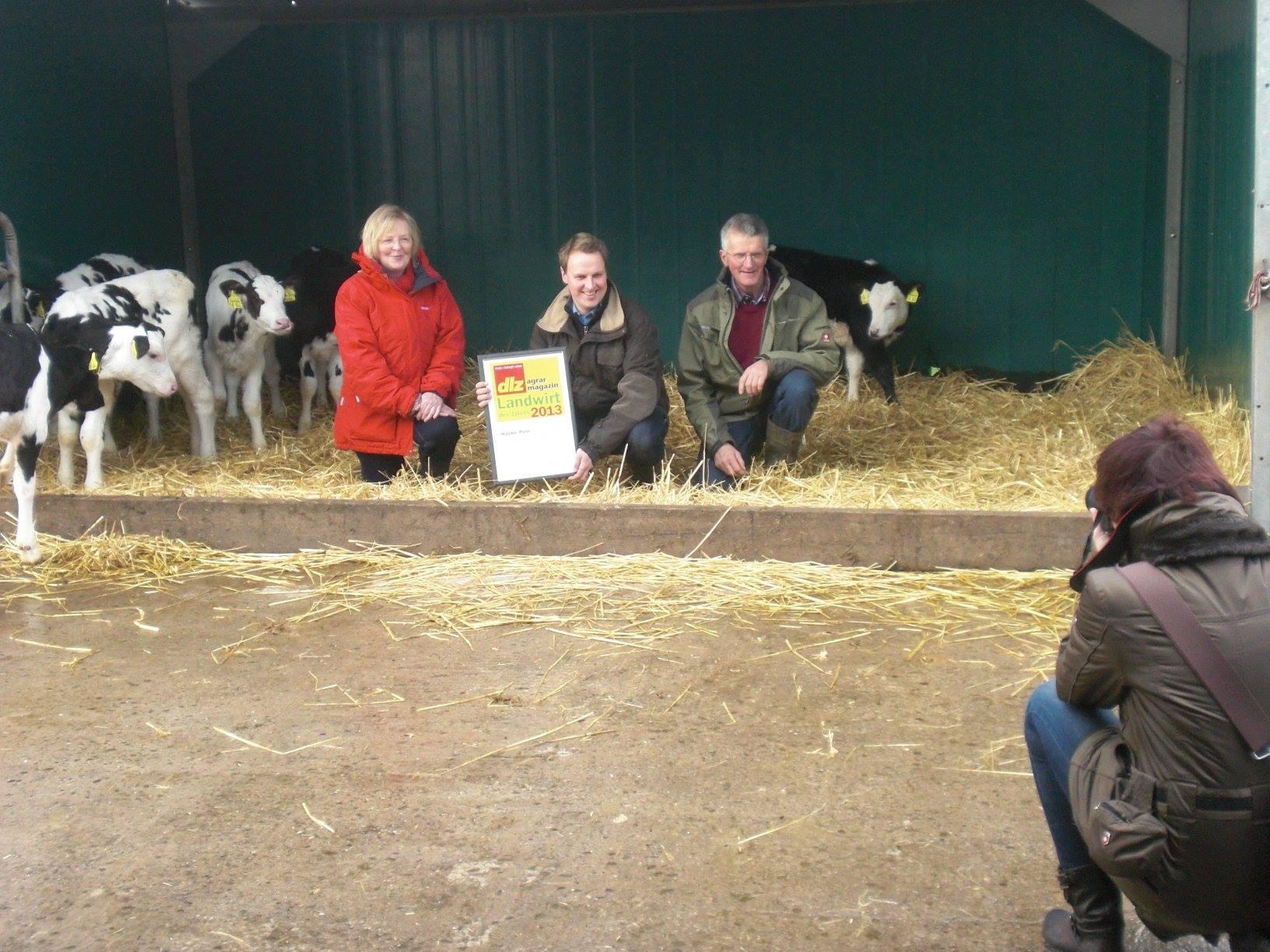 2013 - Auszeichnung als Landwirt des Jahres
