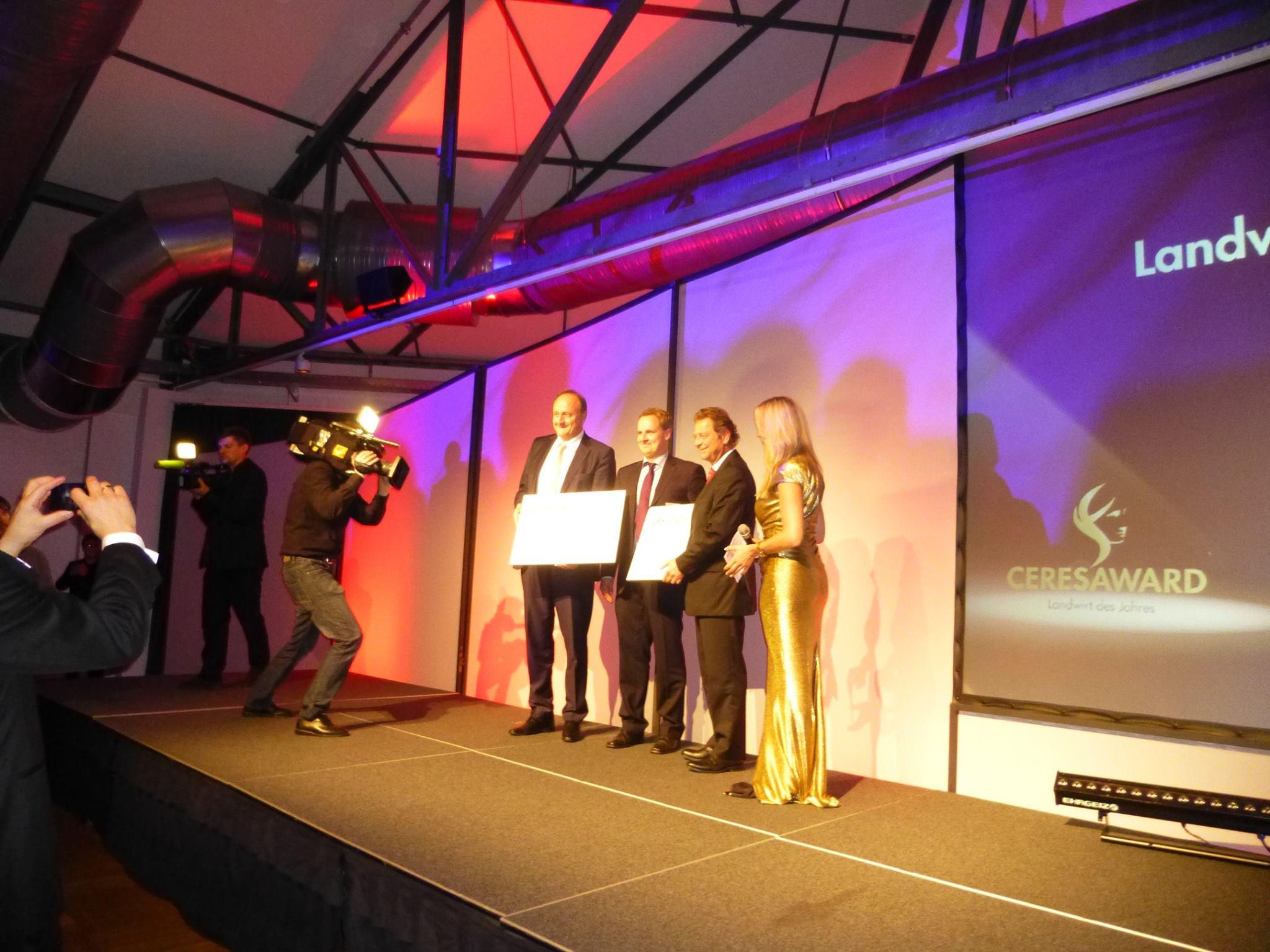 2014 erhielt Hauke den Ceres Award