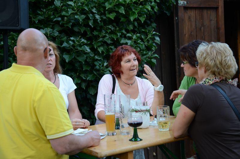 40-Jahr-Jubiläums-Feier SKG Stockstadt Tennis - viel Gesprächsstoff...
