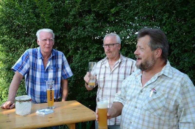 40-Jahr-Jubiläums-Feier SKG Stockstadt Tennis - Die Feier beginnt