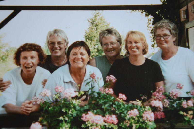 Jahr ? : Damen 60 - Gertrud Schneider, Ursula Kresnicka, Anni Gröger, Sabine Bergen, Lucie Schneider, Traudl Bicking