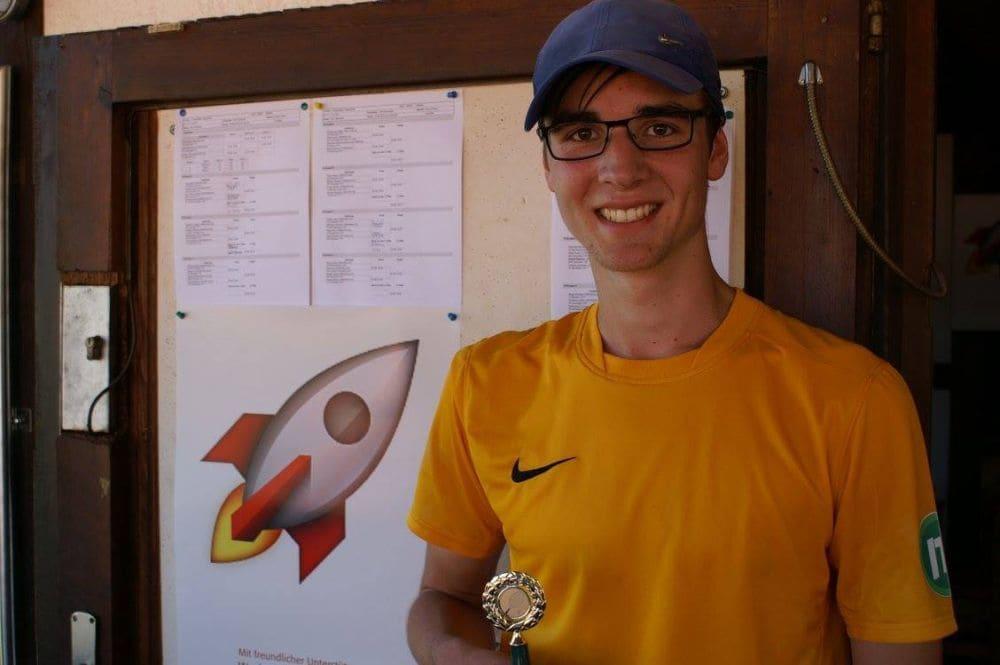 Sieger Herren Gruppe 6 - Philip Welter