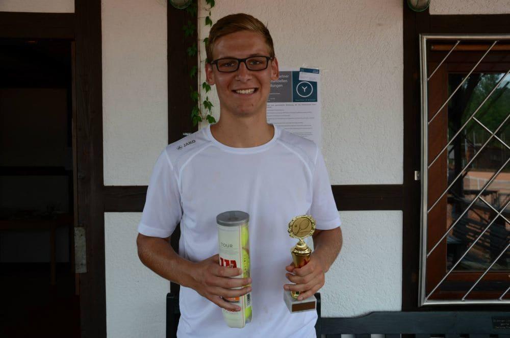 Sieger Herren Gruppe 4 - Marius Kumpf