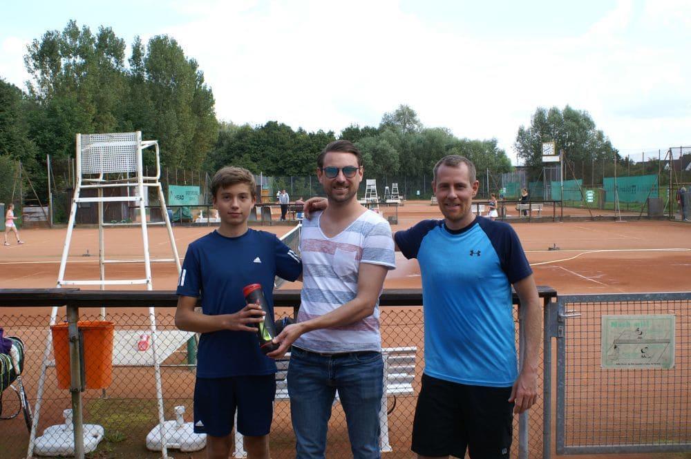 Herren Gruppe 4 - Sieger Felix Habermann (links), Zweitplatzierter Eric Hahl (rechts)