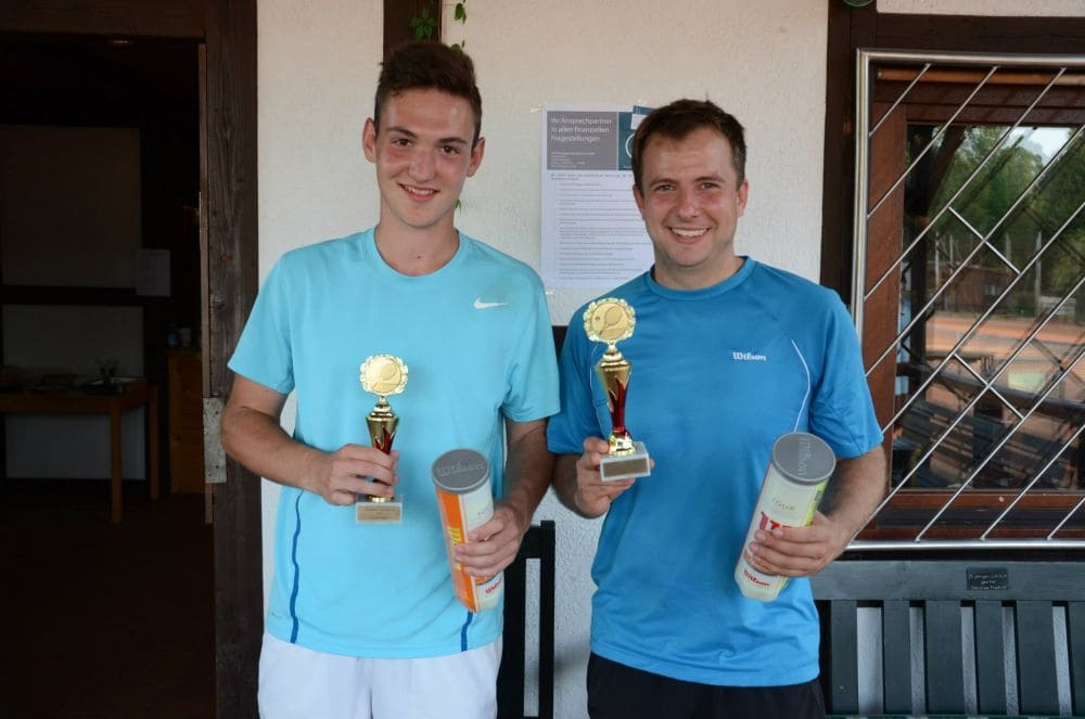 Sieger Herren Gruppe 5 und 7 - Jannik Siegler und Marco Metzger