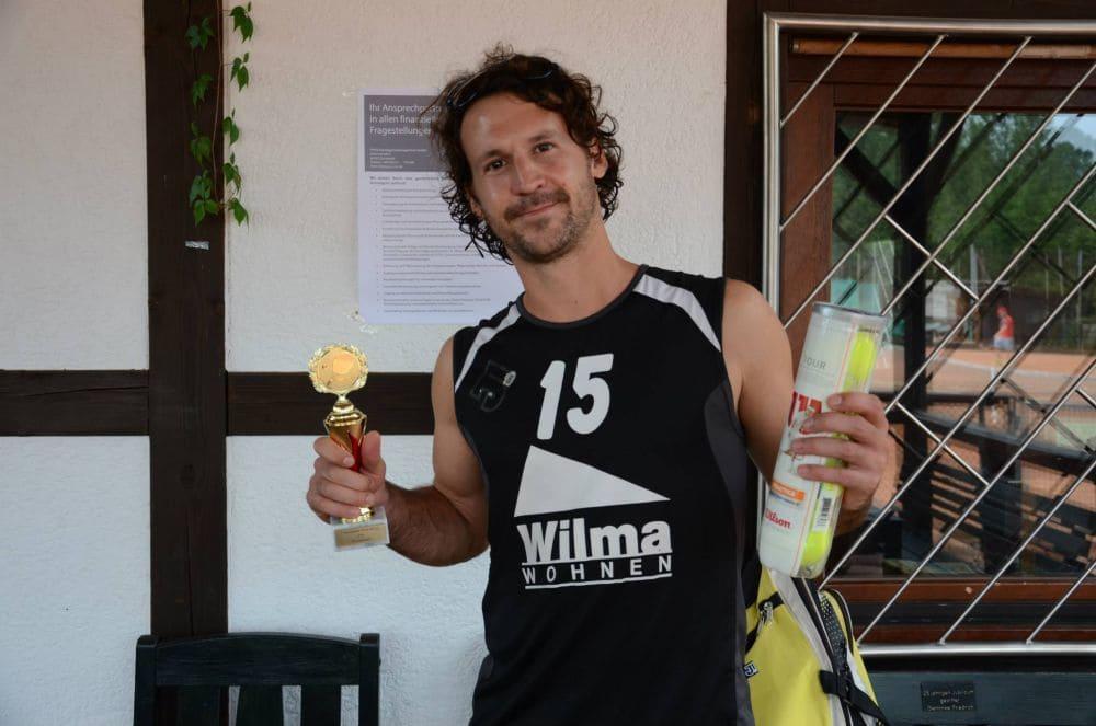 Sieger Herren Gruppe 2 - Tobias Nahm