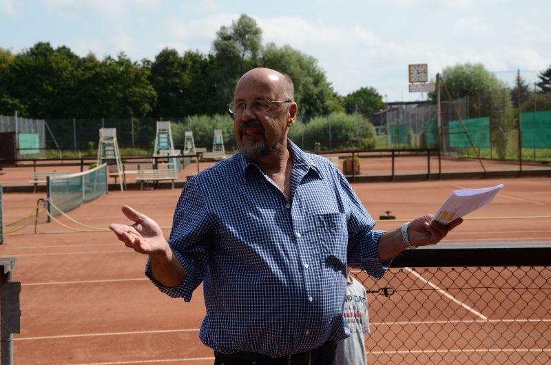 40-Jahr-Jubiläums-Feier SKG Stockstadt Tennis - Ansprache von Ludwig Christlbauer