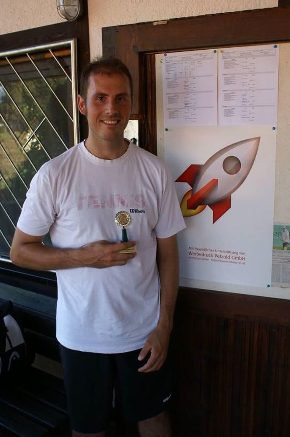 Sieger Herren Gruppe 2 - Benjamin Zwicker