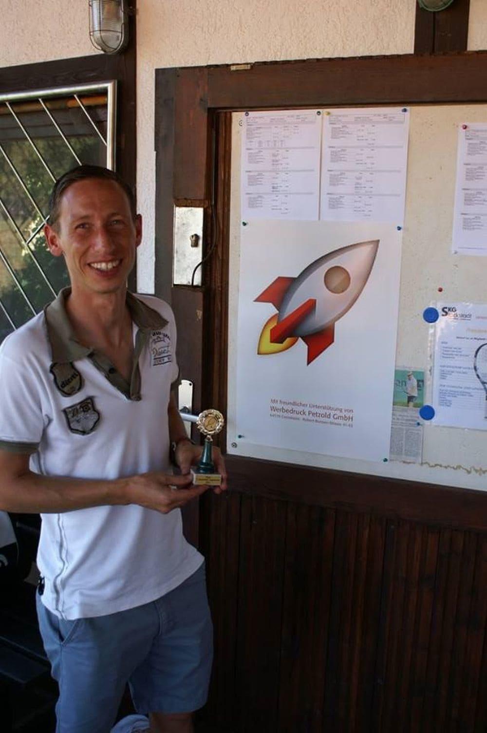Sieger Herren Gruppe 5 - Patrick Wokan
