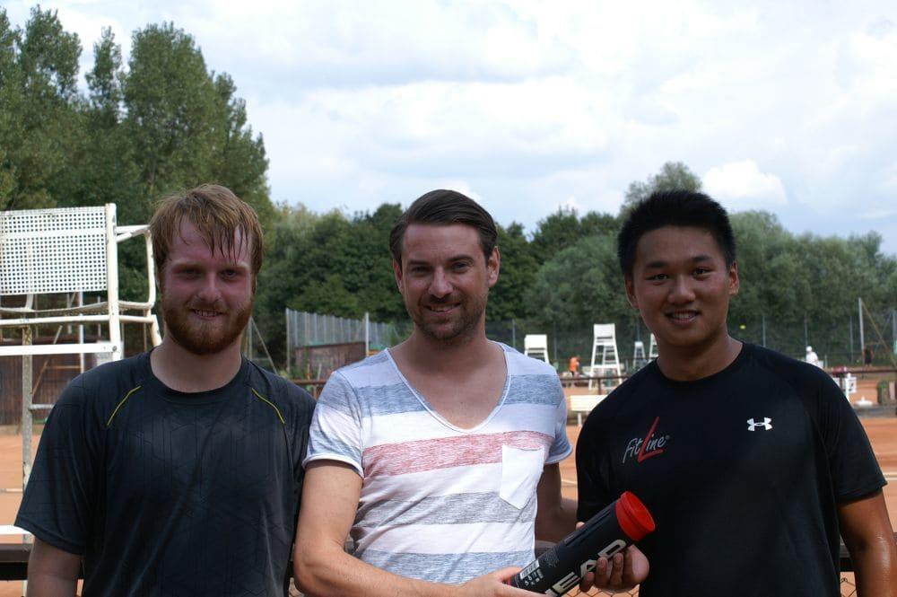 Herren Gruppe 3 - Sieger Jonas Franz (rechts), Zweitplatzierter Falk Breunig (links)