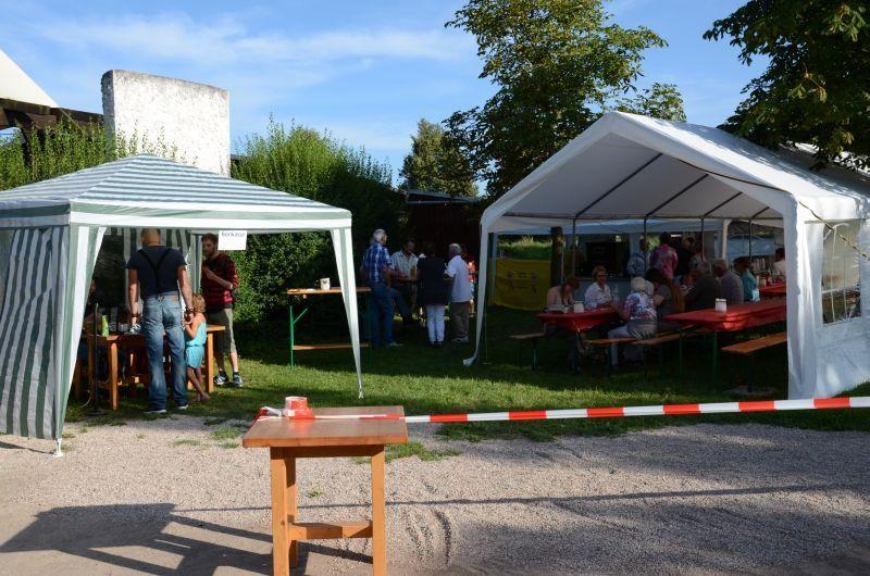 40-Jahr-Jubiläums-Feier SKG Stockstadt Tennis - Überblick verschaffen...