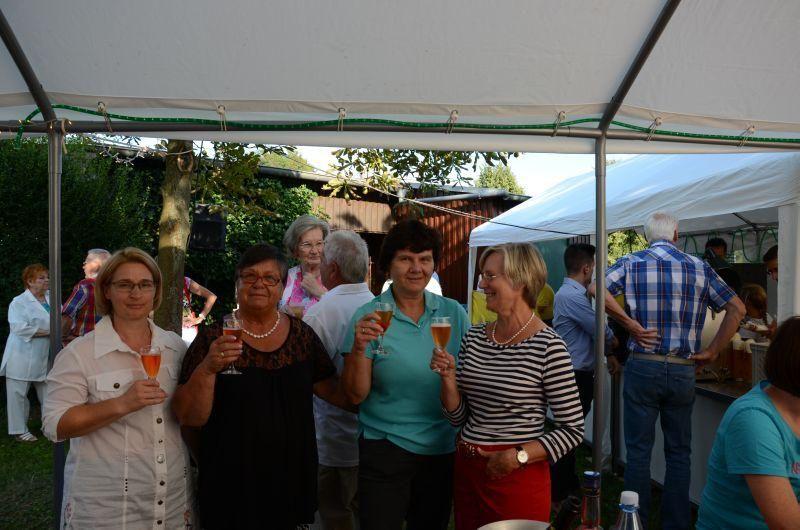 40-Jahr-Jubiläums-Feier SKG Stockstadt Tennis - Prost!