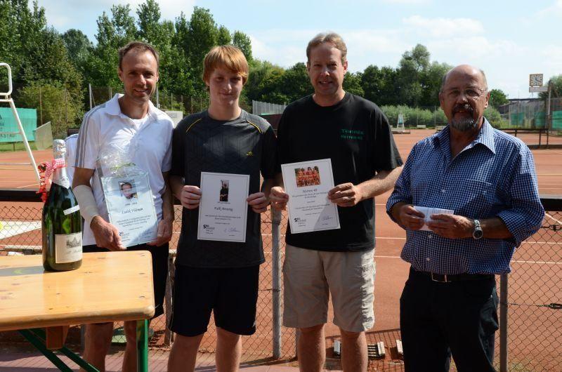 40-Jahr-Jubiläums-Feier SKG Stockstadt Tennis - Ehrungen