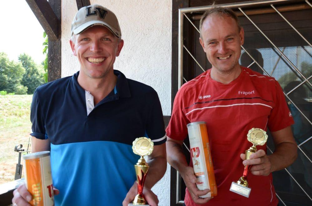 Sieger Herren 40 - Karsten Gasteiner und Sven Peterek