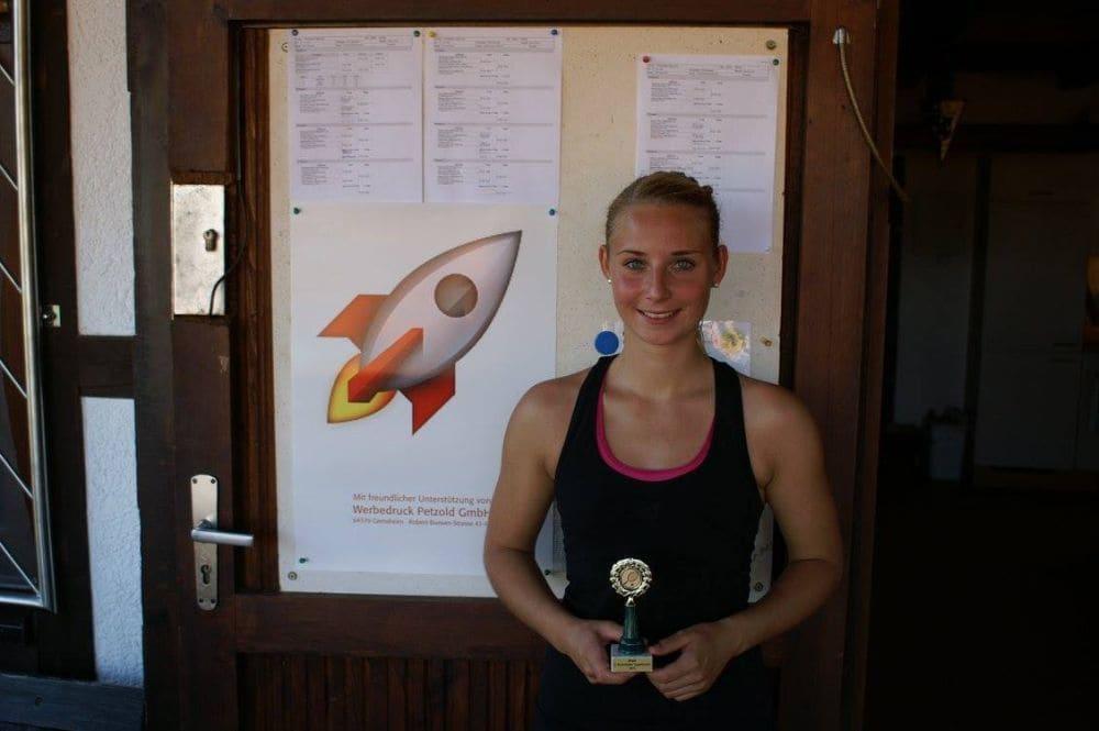 Siegerin Damen Gruppe 3 - Konstanze Keil