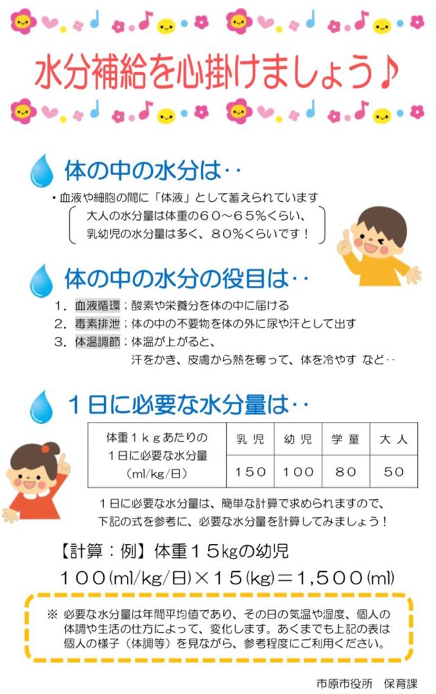 補給 新生児 水分 乳幼児の水分補給 イオン飲料って何?
