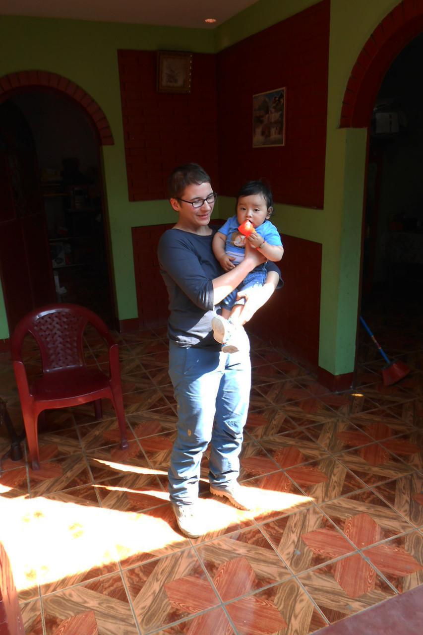 Steffi und Marcos Enkelkind