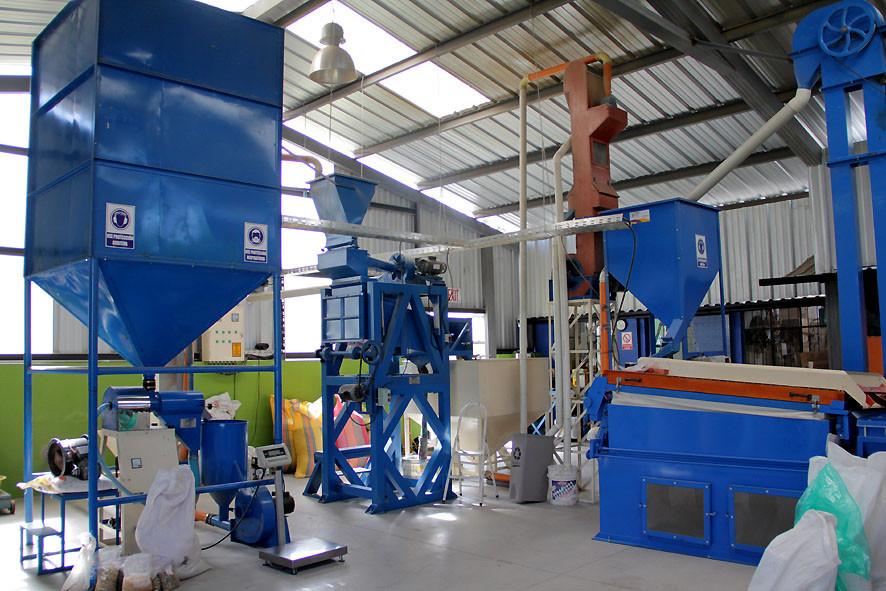 Kaffee-Trockenverarbeitungsanlage von Ena Galetti in Quito