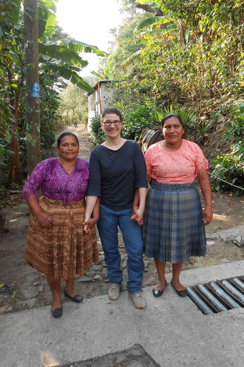 Frauenpower: Marcos Frau, Steffi und Rufinos Frau