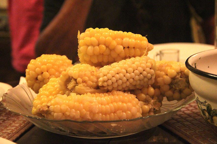 Mais, wirklich sehr lecker