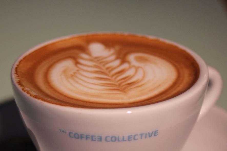 Der Kaffee war so lecker, wie er aussieht.