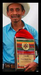 """2015 Don Ancelmo gewinnt den 1. Platz bei dem Wettbewerb von Anacafé der Region  """"San Marcos"""""""