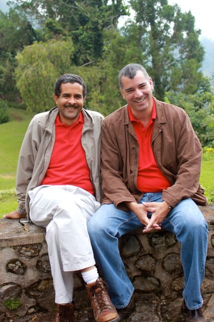 Zwei Brüder machen guten Kaffee, Richard und Jason