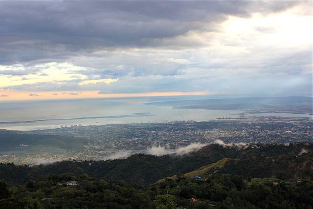 Blick über Kingston von Strawberry Hill aus