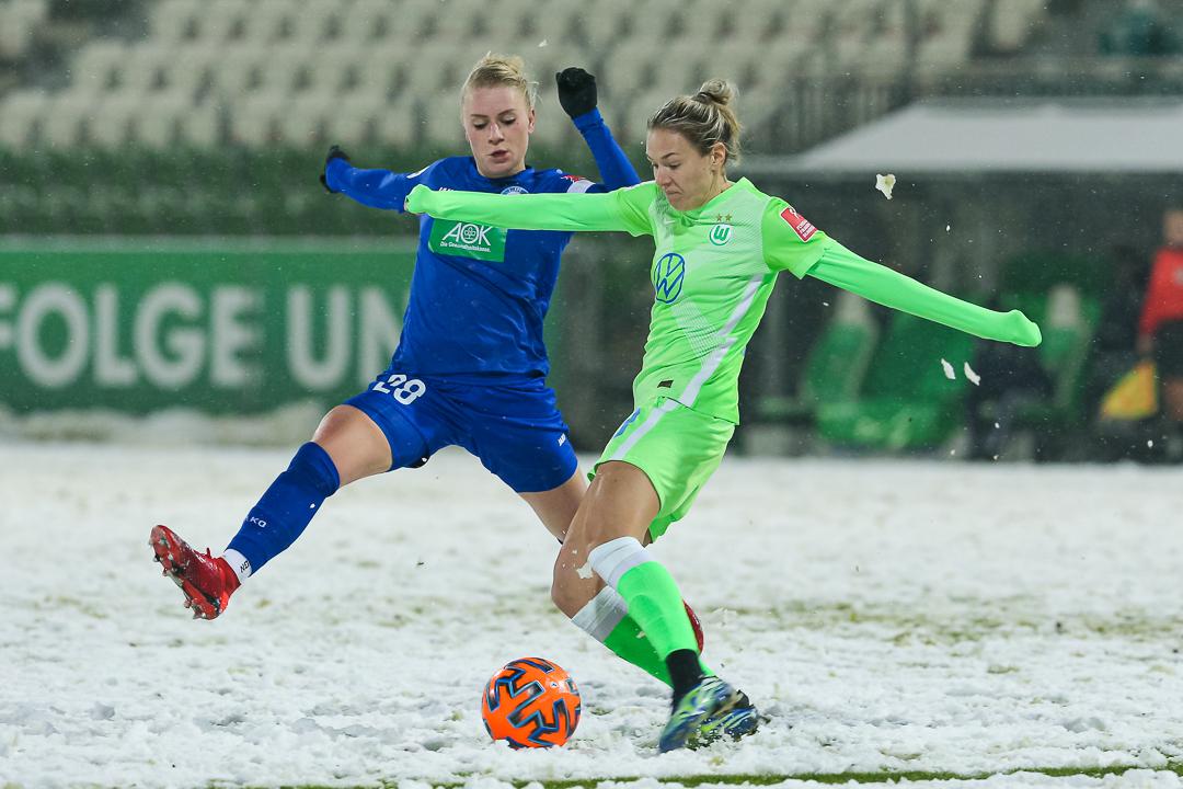 05.02.2021 • VfL Wolfsburg - 1. FFC Turbine Potsdam