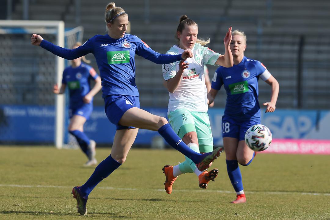 10.03.2021 • 1. FFC Turbine Potsdam - SV Werder Bremen