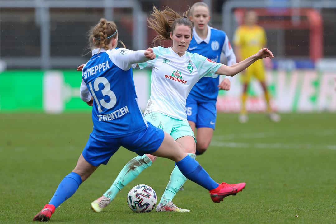 28.03.2021 • SV Meppen - SV Werder Bremen