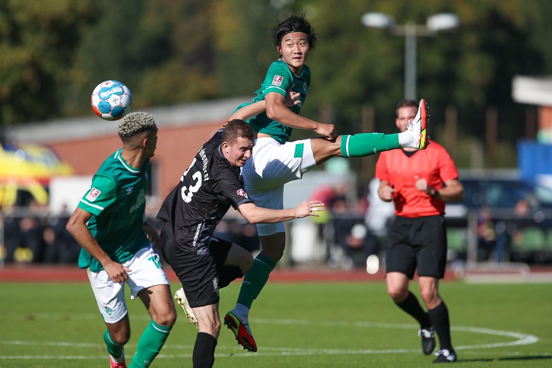 09.10.2021 • SV Werder Bremen II - SV Atlas Delmenhorst