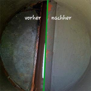 Schacht-Sanierung