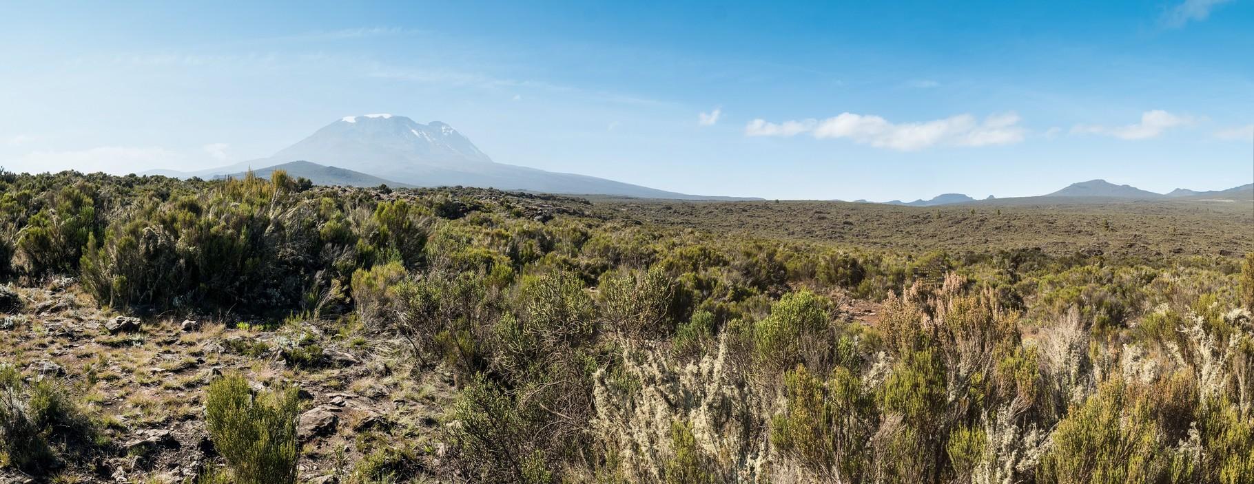 Blick über das Shira Plateau