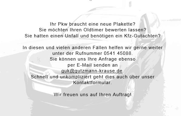 Kfz Gutachten erstellen Schaden TÜV SÜD Auto Partner Gutzmann und Krause