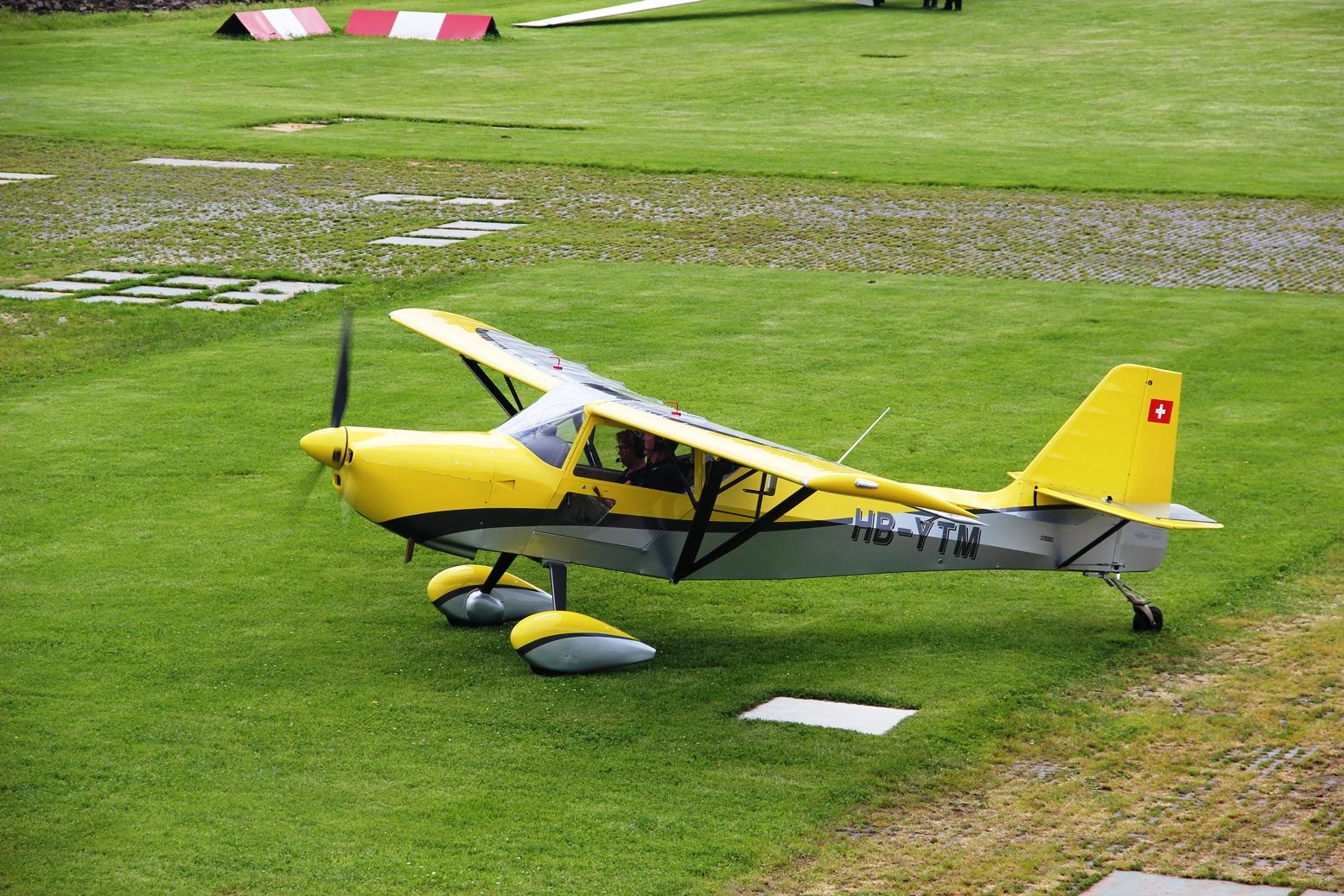 Yellow Fox an der Run Up Position, Foto GJ