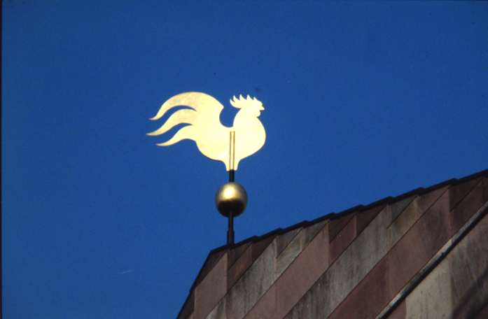 Rooster weather vane - Photo Hadler/Stuhr