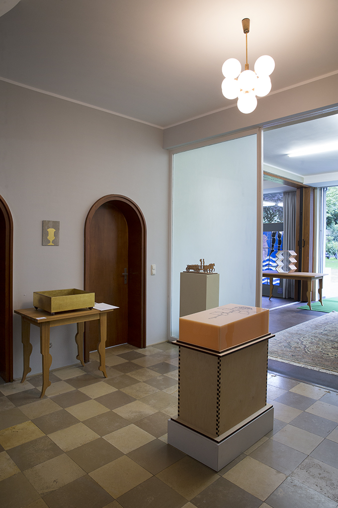 Gedächtnisausstellung Villa V, Viersen 2015 - Foto Thierry Malty