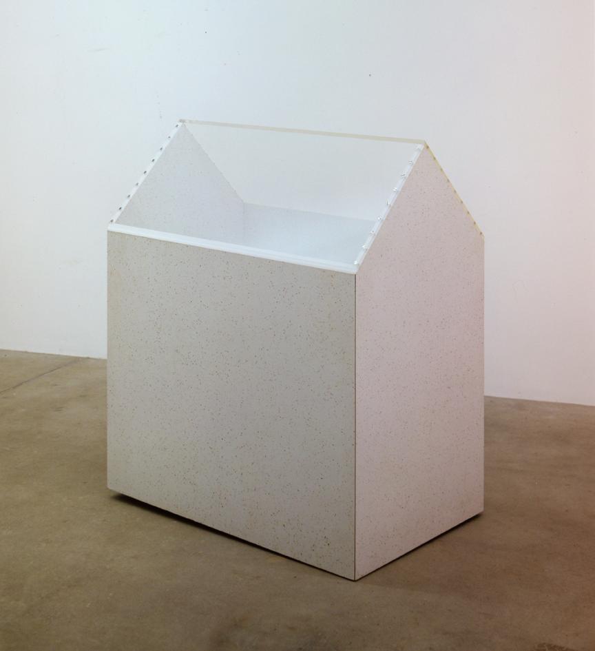 """Plastic City Detail 7"", 1970, Resopal, Acrylglas, 129 x 108 x 69 cm - Sammlung Don & Nancy Eiler, Madison/Wisconsin - Foto Nic Tenwiggenhorn"