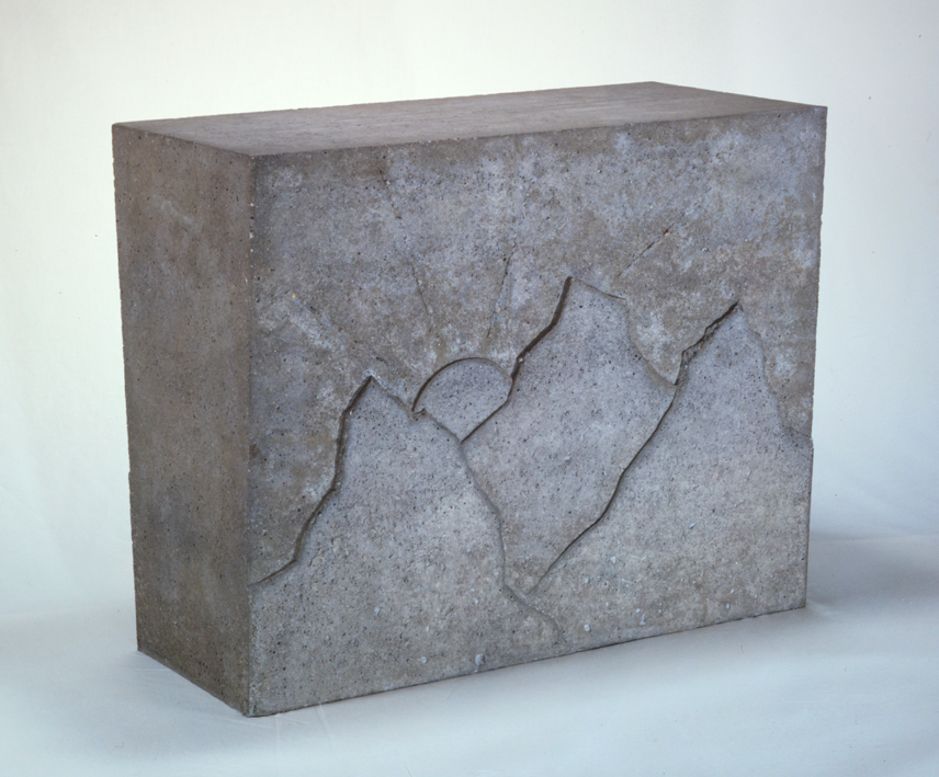"""""""Landschaft"""" 1976, Beton 51 x 63 x 29 cm - Foto Hadler/Stuhr"""