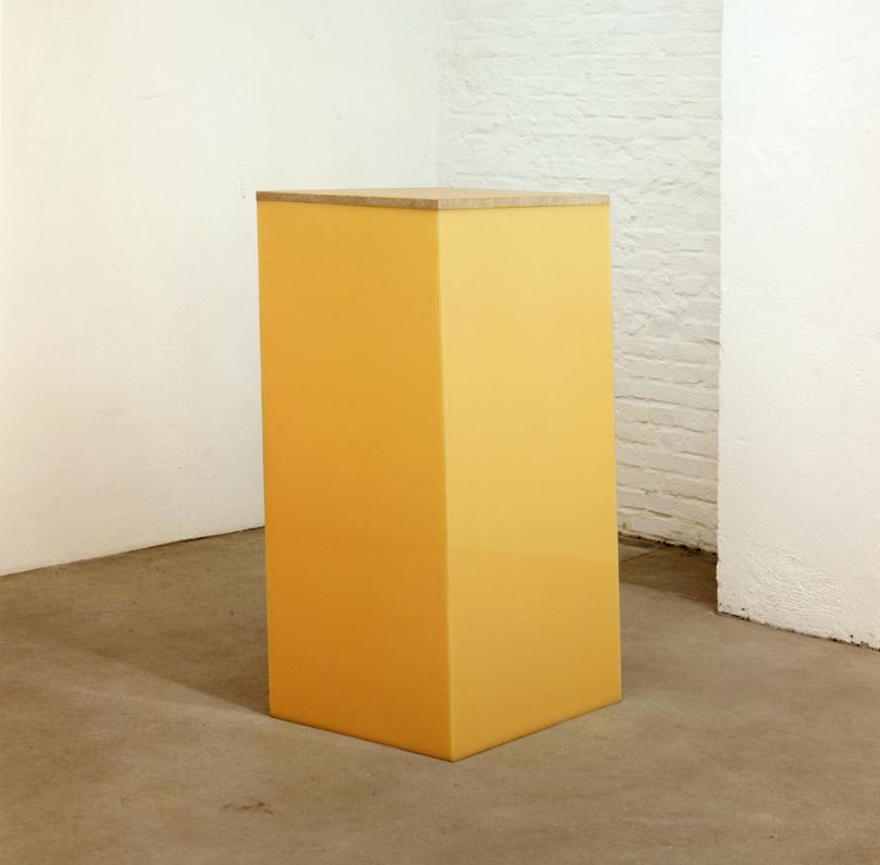 """Plastic City Detail 3"", 1970, Acrylglas, Marmor, 131 x 65 x 55 cm - Sammlung Al Hebert, Detroit - Foto Nic Tenwiggenhorn"
