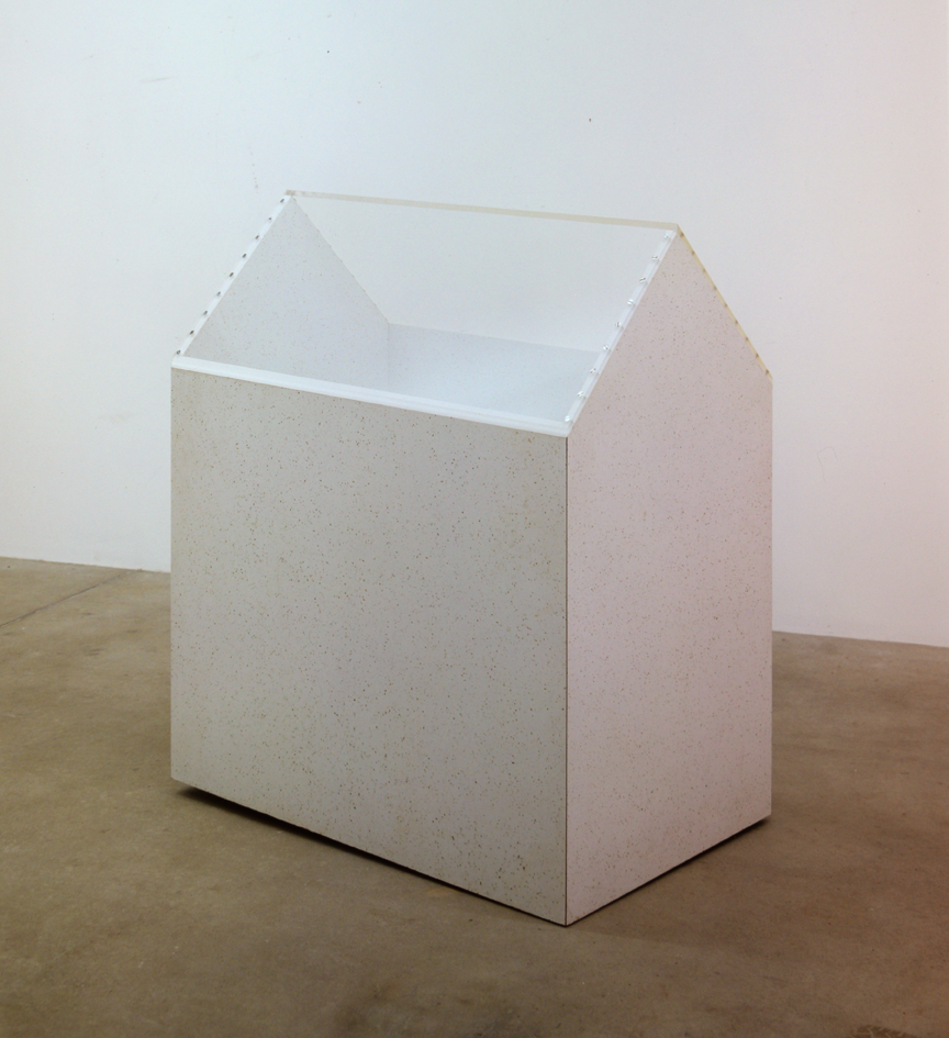 """Ville en plastique détail 7"", 1970, formica, verre acrylique, 129 x 108 x 69 cm - Collection Don & Nancy Eiler, Madison/Wisconsin - Photo Nic Tenwiggenhorn"