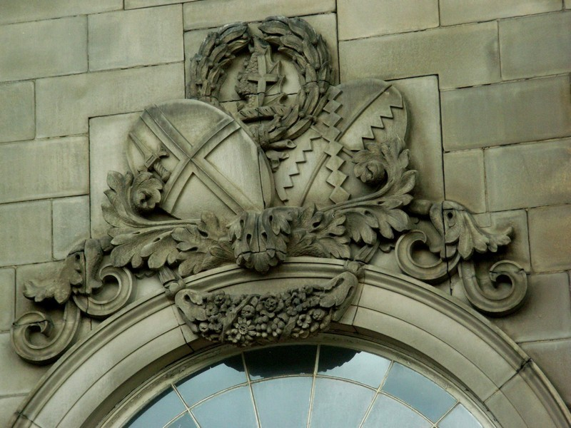 Curzon Street Station - detail