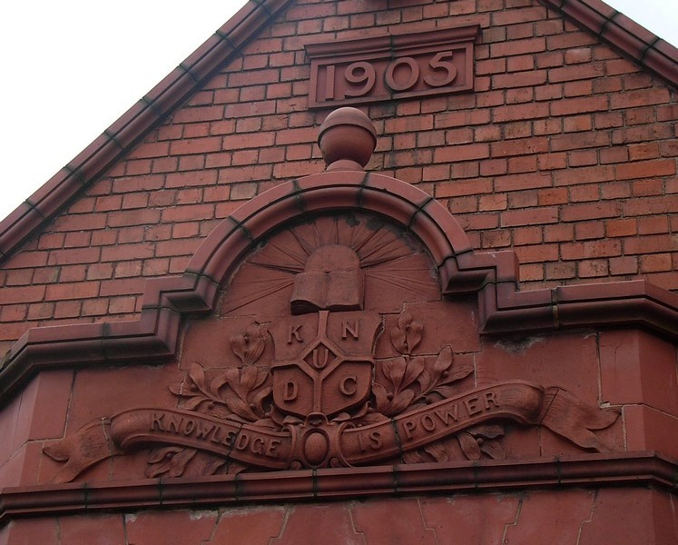 Tiverton School - detail
