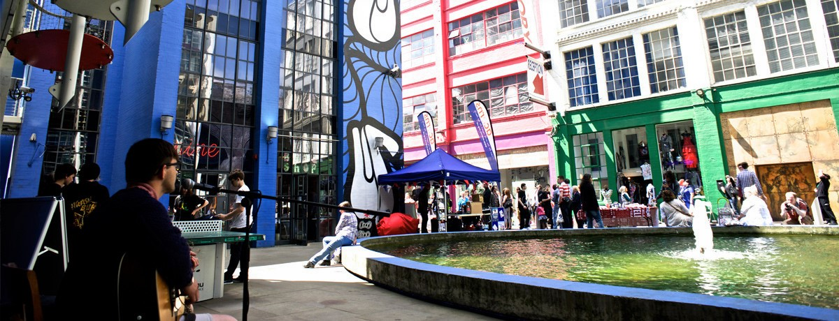 The Custard Factory - image from OurBirmingham website