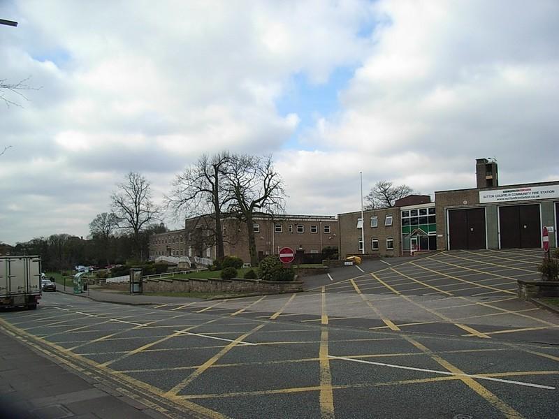 Sutton fire station
