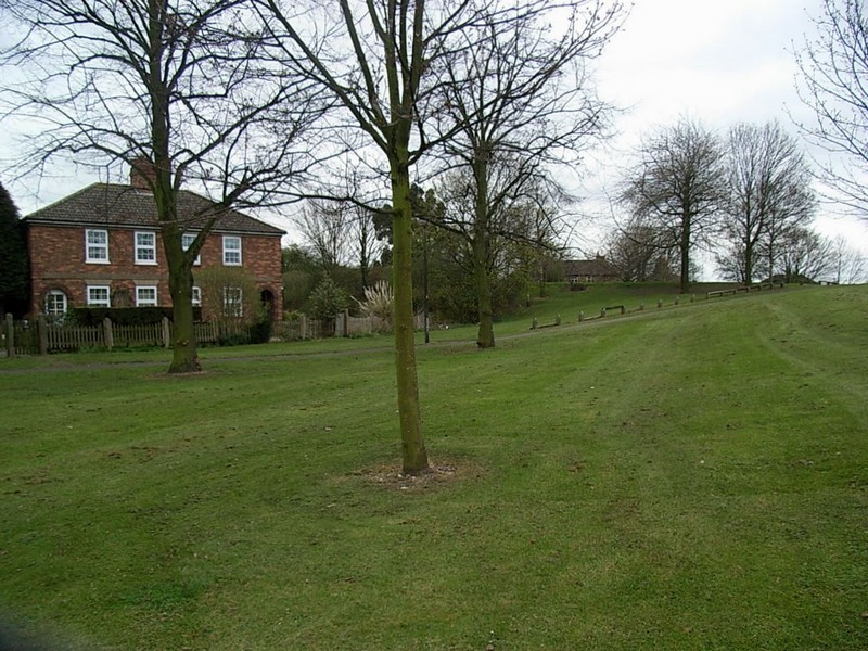 Minworth Green. Beneath the hill is the main sewer carrying the entire sewage of birmingham and the Black Country.