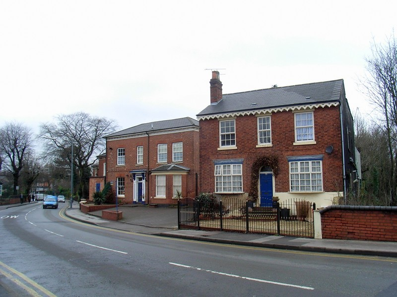 Early Victorian houses on Dudley Park Road