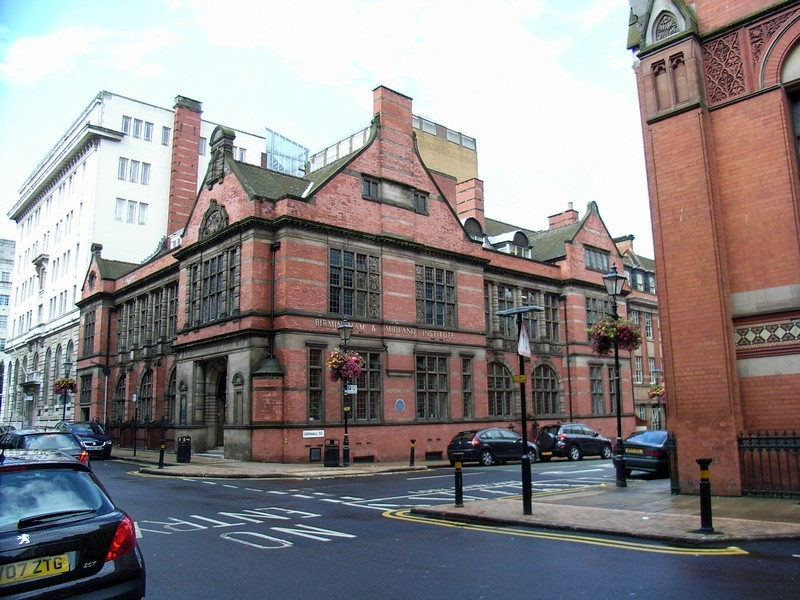 The Birmingham & Midland Institute, Margaret Street